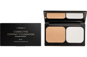 Korres Activated Charcoal Corrective Compact Foundation ACCF1 9.5gr