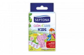Septona Calm n' Care Kids Παιδικοί Ταχυεπίδεσμοι 15τμχ
