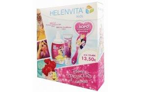 Helenvita Set Disney Princess Kids 2 In 1 Shampoo & Shower Gel 500ml & Ηair Conditioner 150ml
