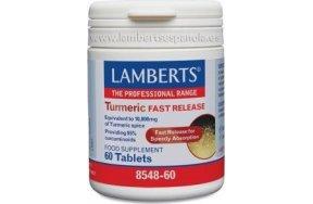 LAMBERTS TURMERIC FAST RELEASE 60TABS