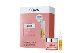 Lierac Hydragenist Cream 50ml & Cica-Filler Anti-Wrinkle Repairing Serum 10ml