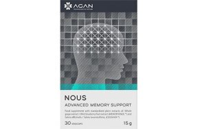 Agan Nous Advanced Memory Support 30 φυτικές κάψουλες