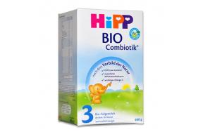 Hipp Bio Combiotic No 3 Βιολογικό Γάλα, 600gr