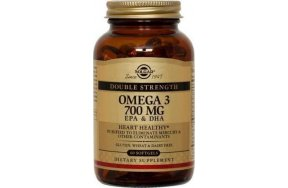 SOLGAR OMEGA 3 DOUBLE STRENGTH SOFTGELS 120S