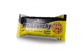Anderson Pro-Crunchy Low-Carb Protein Bar Cookie 40gr