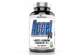 Anderson Accel 1-G Acetyl L-Carnitine 100tabs