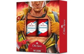 Old Spice Whitewater Fireman Set