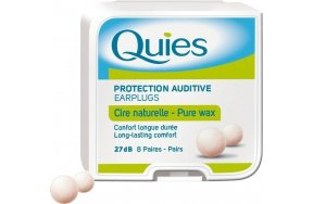 Quies Wax Earplugs (8 Ζεύγη)