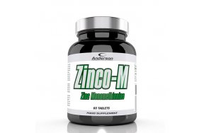 Anderson Zinco-M Zinc Monomethionine 12.5mg 60tabs