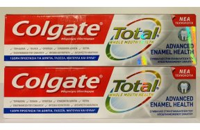 Colgate Total Advanced Enamel Health 2 x 75ml
