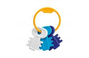 Chicco Χρωματιστά Κλειδιά Σιελ 3m+ (63216-20)