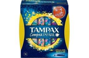 TAMPAX COMPAK PEARL REGULAR 8X18