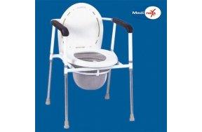 Medinext Commode Καρέκλα + WC - Ρυθμιζόμενο Ύψος