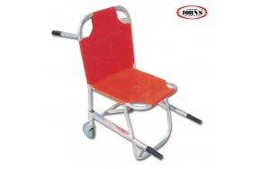 John's Καρέκλα Μεταφοράς Πτυσσόμενη για Σκάλες με 2 Ζώνες Ασφαλείας