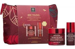 Apivita Bee Young Set Wine Elixir Light Texture