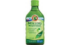 Moller's Cod Liver Oil 250ml Μήλο