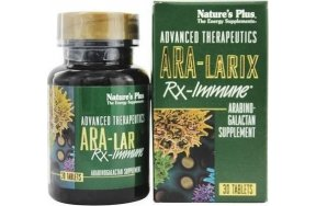 Nature's Plus Ara-Larix Rx-Immune 30 ταμπλέτες