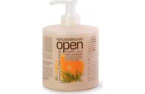 Open Care Rosemary & Bitter Orange Κρεμοσάπουνο 500ml