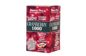 Nature's Plus Ultra 1000 60 ταμπλέτες Cranberry