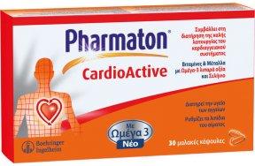 Pharmaton CardioActive 30 μαλακές κάψουλες
