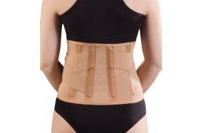 Anatomic Help Gold Waist Belt 0154 Ζώνη Οσφύος Gold με 4 μπανέλες XXL